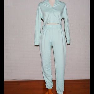 Mint Green Sweatsuit Set